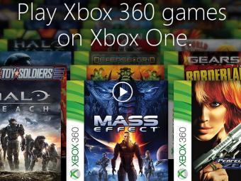 Консоль Xbox One получит обратную совместимость сиграми для Xbox 360