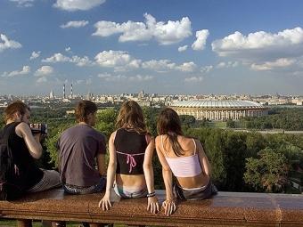 Вчетверг москвичей ждет теплая исолнечная погода