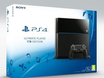 Дата выхода PS4 Ultimate Player Edition сHDD объемом 1 ТБ