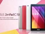 Asus представила планшет ZenPac C7.0