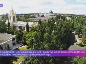 Московские власти решили выделить набесплатный Wi-Fi наВДНХ 47млнруб.