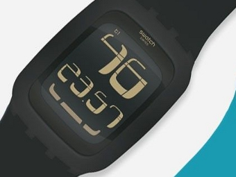Часы Swatch получат сенсорный экран