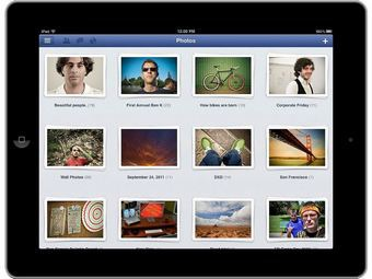 Facebook разработал приложение для iPad