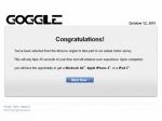 Google не смог одолеть сайт goggle.com
