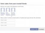 Facebook позволит восстановить аккаунт с помощью друзей
