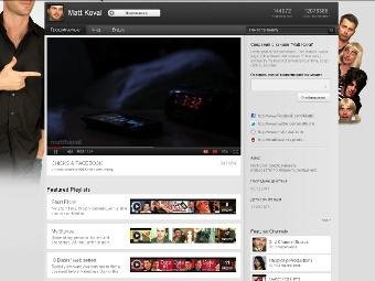 YouTube представил новый интерфейс каналов