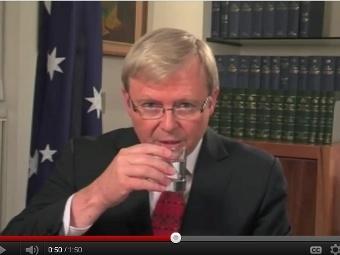 В сети появилось нецензурное видео с экс-премьером Австралии