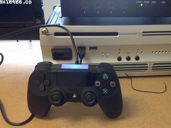 Первый снимок прототипа контроллера PlayStation 4