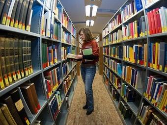 В библиотеке Пермского госуниверситета книги принимает робот