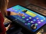 Изобретён 46-дюймовый планшет, способный одновременно обрабатывать до 60 прикосновений