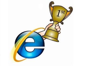 Internet Explorer по-прежнему является наиболее популярным браузером