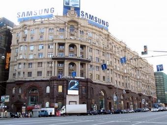 Samsung закрывает магазины в России