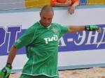 Команда «Строгино» в чемпионате России по пляжному футболу проиграла «Локомотиву»