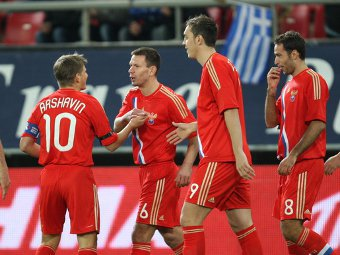 Сборная России начнет отбор на ЧМ-2014 матчем с Северной Ирландией