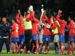Футбольная сборная Коста-Рики опережает Аргентину