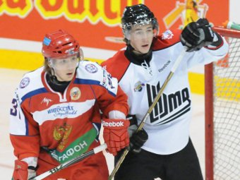 Молодежная сборная России по хоккею выиграла второй матч у канадцев