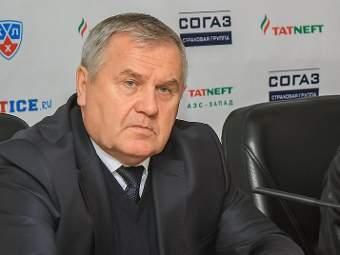 """Тренер """"Ак Барса"""" сохранил свой пост"""