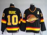 Павел Буре навсегда останется номером 10 в «Ванкувер Кэнакс»