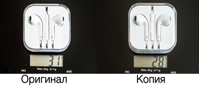 отличие оригинального и неоригинального iPhone